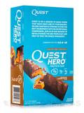 Quest Hero™ Chocolate Caramel Pecan Flavor Protein Bar - Box of 10 Bars (2.12 oz / 60 Grams Each)