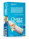Quest Hero™ Vanilla Caramel Flavor Protein Bar - Box of 10 Bars (2.12 oz / 60 Grams Each)