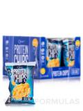 Quest Protein Chips Sea Salt - Box of 8 Bags (1 1/8 oz / 32 Grams Each)