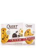 Quest Protein Cookie, Chocolate Chip Flavored - Box of 12 Cookies (2.08 oz / 59 Grams Each)