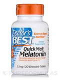 Quick Melt Melatonin 2.5 mg 120 Chewable Tablets