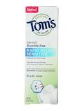 Rapid Relief Sensitive Toothpaste, Fresh Mint (Flouride-Free) - 4 oz (113 Grams)
