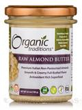 Raw Almond Butter - 6.3 oz (180 Grams)