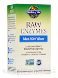 RAW Enzymes™ Men 50 & Wiser 90 Vegetarian Capsules