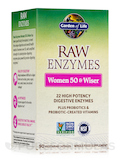 RAW Enzymes™ Women 50 & Wiser 90 Vegetarian Capsules