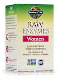 RAW Enzymes™ Women 90 Vegetarian Capsules
