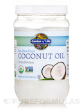 Raw Extra Virgin Organic Coconut Oil - 14 fl. oz (414 ml)