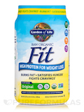 Raw Organic Fit High Protein Powder, Original - 30.1 oz (854 Grams)