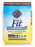 RAW Organic Fit High Protein Powder, Chocolate - 16.3 oz (461 Grams)