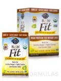 Raw Organic Fit High Protein Powder, Chocolate - 10 Packets (1.6 oz / 45 Grams Each)