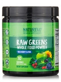 Raw Greens Whole Food Powder, Wild Berry Flavor - 30 Servings (8.5 oz / 240 Grams)
