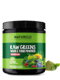 Raw Greens Whole Powder, Unsweetened - 17 oz (480 Grams)