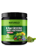 Raw Greens Whole Powder, Unsweetened - 8.5 oz (240 Grams)