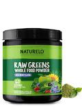 Raw Greens Whole Powder, Wild Berry Flavor - 14 oz (480 Grams)