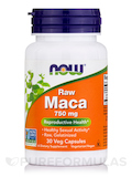 Raw Maca 750 mg - 30 Veg Capsules