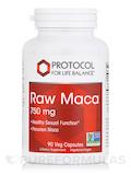 Raw Maca 750 mg - 90 Veg Capsules
