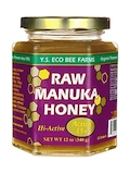 Raw Manuka Honey (Active 15+) - 12 oz (340 Grams)