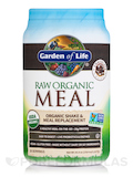 Raw Organic Meal Powder, Chocolate Cacao Flavor - 34.8 oz (986 Grams)