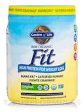 Raw Organic Fit High Protein Powder, Original - 15.1 oz (427 Grams)