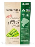 Raw Organic Green Banana Powder - 8.5 oz (240 Grams)