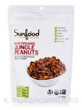 Jungle Peanuts, Organic, Raw - 8 oz (227 Grams)