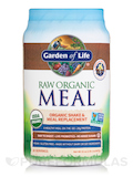 Raw Organic Meal Powder, Vanilla Spiced Chai Flavor - 32.1 oz (909 Grams)
