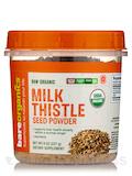 Raw Organic Milk Thistle Seed Powder - 8 oz (227 Grams)