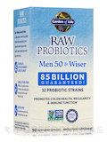 RAW Probiotics Men 50 & Wiser - 90 Vegetarian Capsules