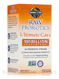 RAW Probiotics Ultimate Care 100 Billion - 30 Vegetarian Capsules