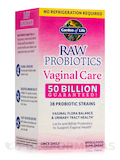 RAW Probiotics Vaginal Care 50 Billion (Shelf Stable) - 30 Vegetarian Capsules