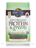 Raw Protein and Greens Chocolate - 21.6 oz (611 Grams)