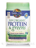 Raw Protein and Greens Vanilla - 19.3 oz (548 Grams)