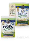 Raw Protein and Greens Vanilla Tray - 10 Packets (9.7 oz / 274 Grams)