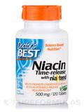 Niacin Time-Release with NiaXtend® 500 mg - 120 Tablets