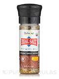 Real Salt - Organic Garlic Pepper Seasoning - 3.3 oz (93 Grams)