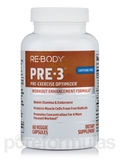 Re-Body Pre-3 Pre-Excercise Optimizer (Caffeine Free) 60 Capsules