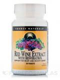 Red Wine Extract with Resveratrol 30 Tablets