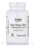 Red Yeast Rice 1200 mg with CoQ10 - 120 Vegetarian Capsules