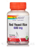 Red Yeast Rice 600 mg - 120 VegCaps