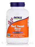 Red Yeast Rice 600 mg - 240 Veg Capsules