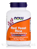 Red Yeast Rice 600 mg with CoQ10 30 mg 120 Vegetarian Capsules