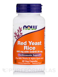 Red Yeast Rice 600 mg with CoQ10 30 mg - 60 Vegetarian Capsules