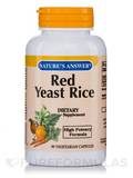 Red Yeast Rice 600 mg - 90 Vegetarian Capsules