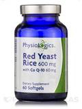 Red Yeast Rice 600 mg with CoQ10 60 mg 60 Softgels
