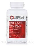Red Yeast Rice Plus 600 mg - 90 Vegetarian Capsules