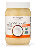 Organic Refined Coconut Oil - 15 fl. oz (444 ml)