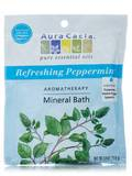 Refreshing Peppermint Mineral Bath Salts (Peppermint Harvest) 2.5 oz