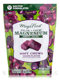Relax + Calm Magnesium Soft Chews, Grape Flavor - 30 Individually Wrapped Soft Chews