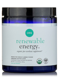 Renewable Energy®: Organic Pre-Workout Powder, Ceremonial Matcha Flavor - 7.1 oz (200 Grams)