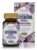 Reserveage Resveratrol 500 mg with Ptero 60 Capsules